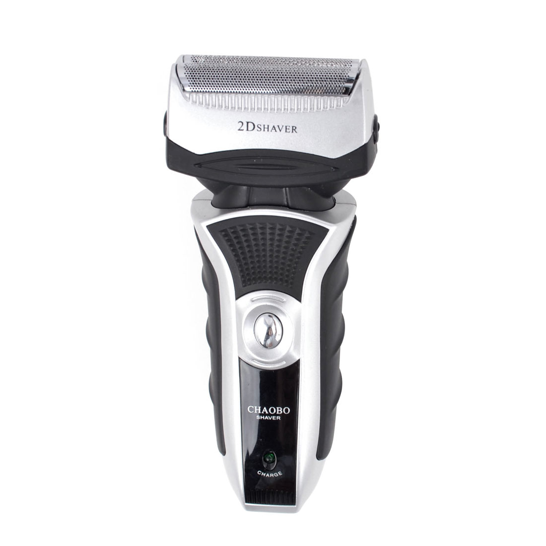 UK Plug AC 220V Black Plastic Rechargeable Double Head Reciprocating Electric Shaver for Man