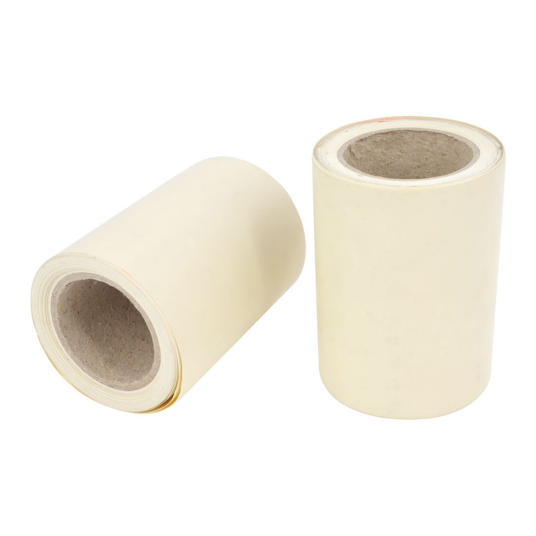 Air Conditioner PVC Pipe Hose Wrapping Tape Roller Ivory Color 8.5cmx10M 2 Pcs