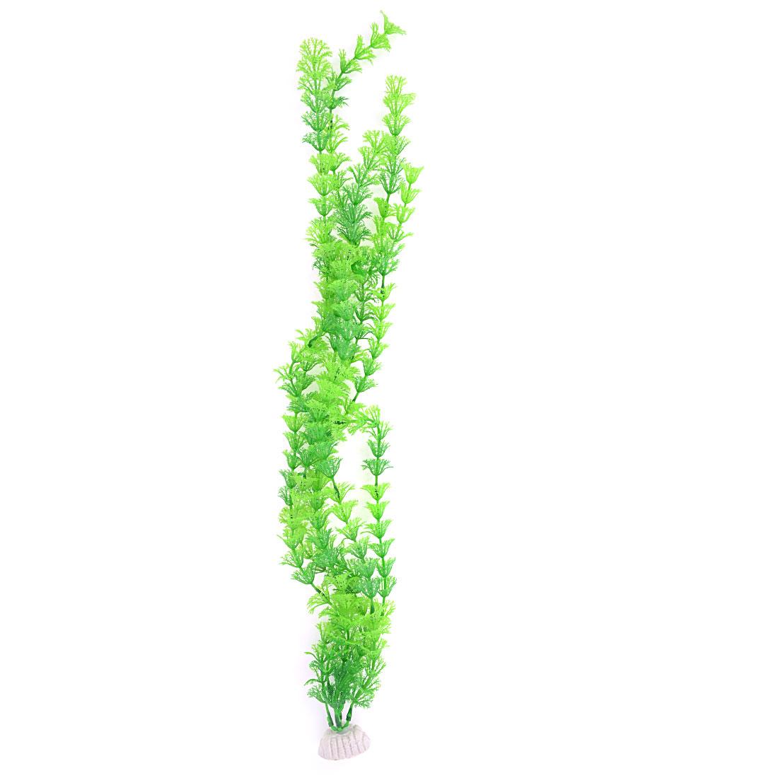 Aquarium Tanks Decor Green Plastic Emulational Aquaric Plant Grass 60cm