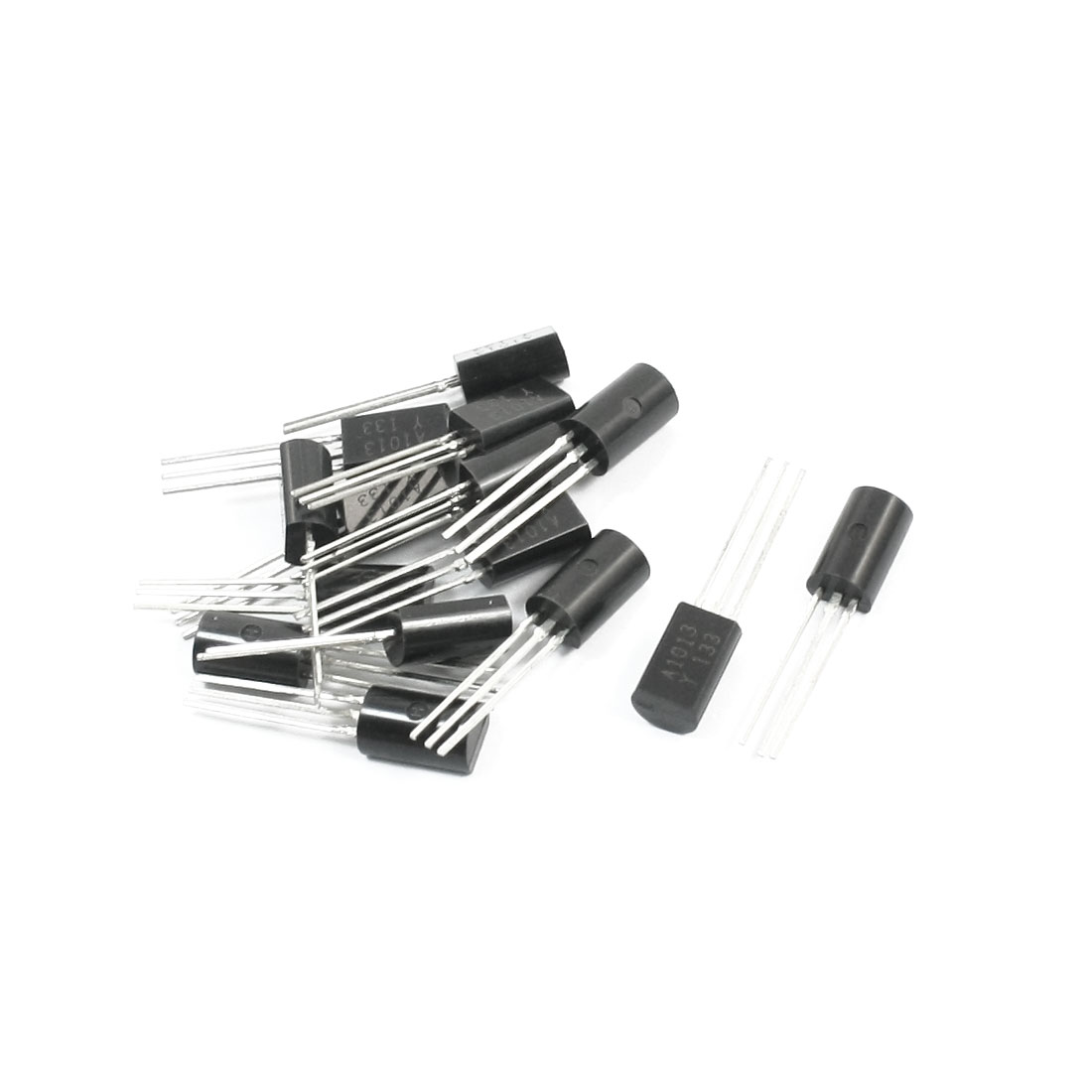 2SA1013Y TO-92L PNP Electric Component 3 Pins Through Hole PCB Surface Mount General Purpose Power Transistor 160V 0.1A 15Pcs