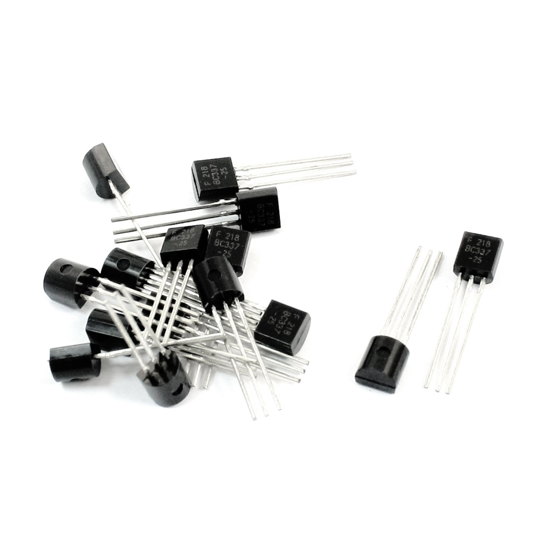 BC337-25 NPN TO-92 Electric Component 3 Pins Through Hole Mount General Purpose Power Transistor 50V 0.8A 15 Pcs