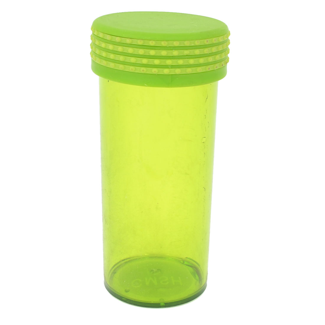 Removable Dotted Lid Travel Water Bottle Clear Green 300ml