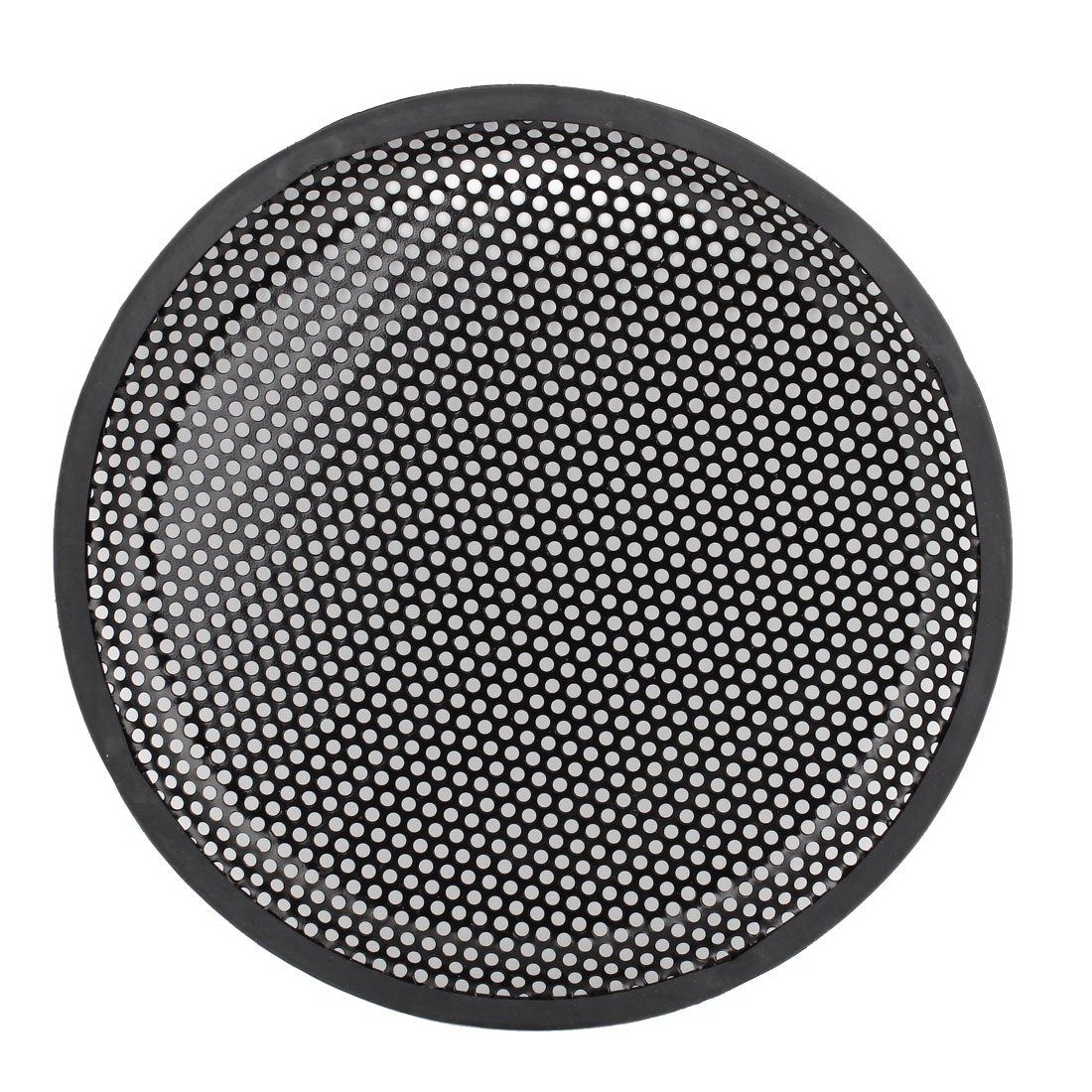 "10"" Diameter Metal Mesh Round Car Woofer Component Protective Cover Speaker Grill Black"