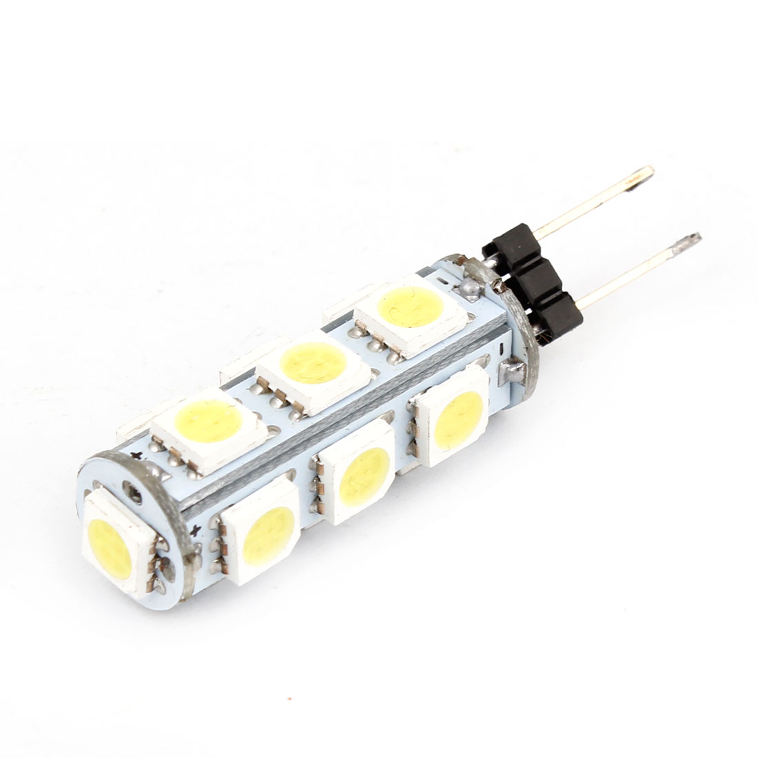 Car Bin Pin G4 5050 SMD 13-LEDs White Marine Boat Camper Light Bulb Lamp Internal