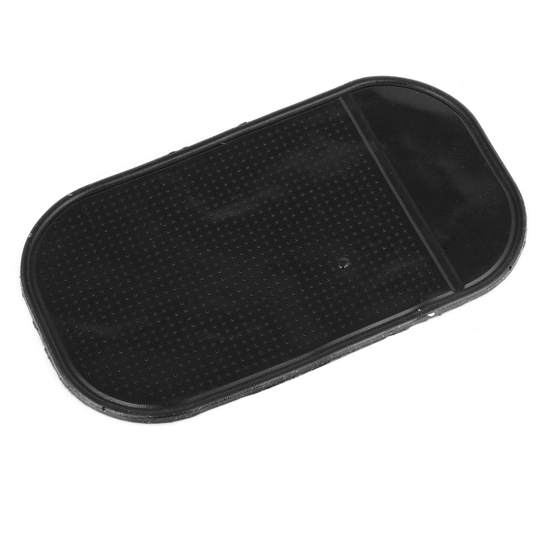 Black Soft Rubber Nonslip Dots Auto Dashboard Phone Holder Pad Mat