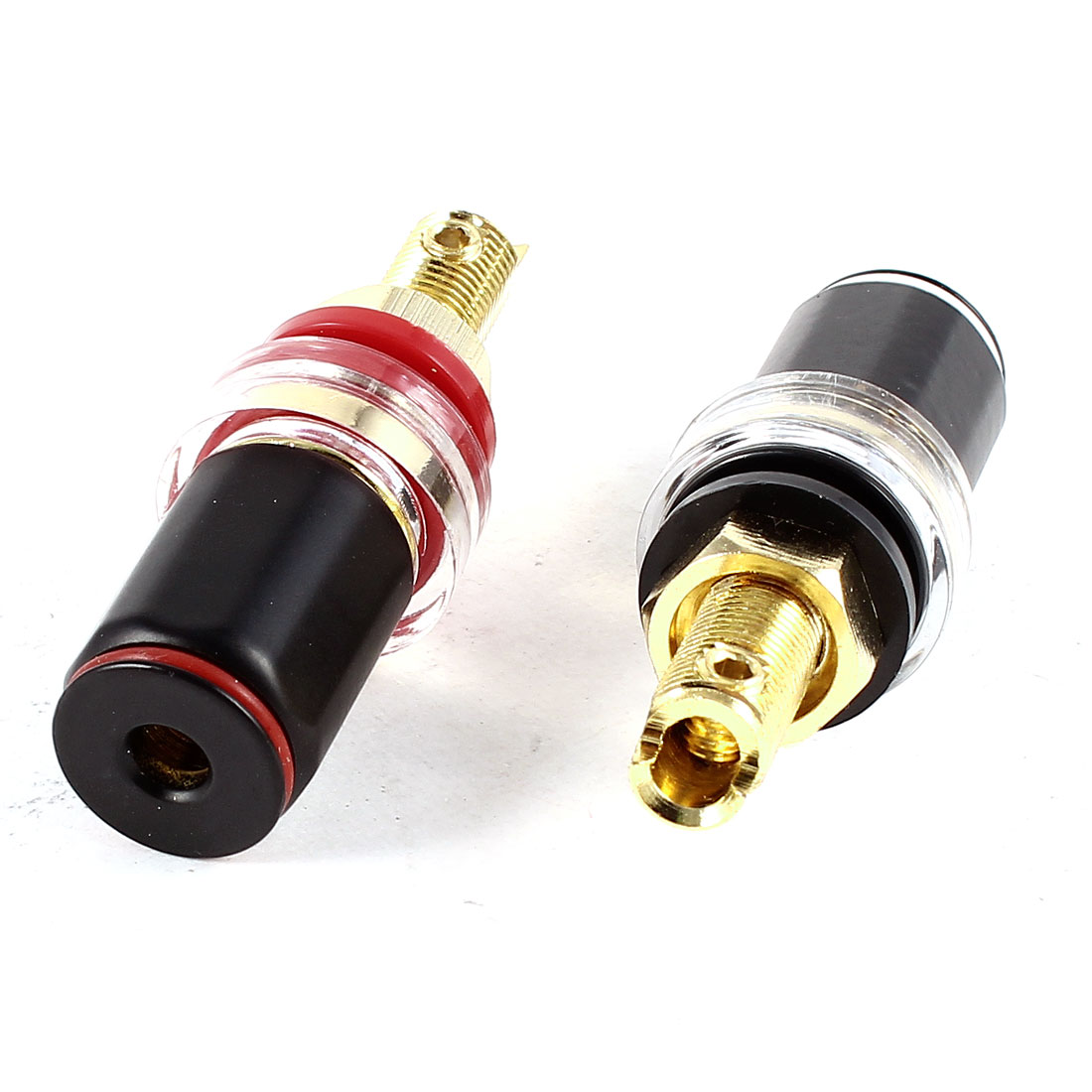 2 Pcs 7.8mm Thread Speaker Cable Terminal Banana Plug Binding Post Replacement
