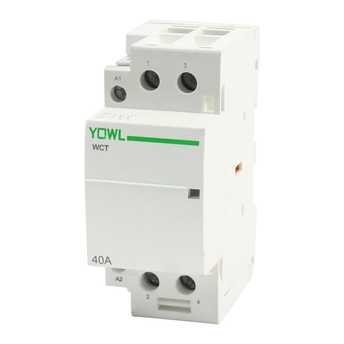 WCT-40A AC220-240V Coil 2P Dual Poles 35mm DIN Rail Mounting Universal Purpose Household Contactor Famliy Modular 40AMP