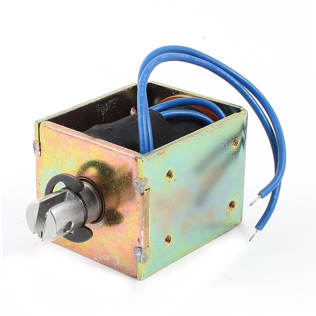 5mm/1.2Kg 91.5W Power Wired Open Frame Pull Type Solenoid Electromagnet DC 60V