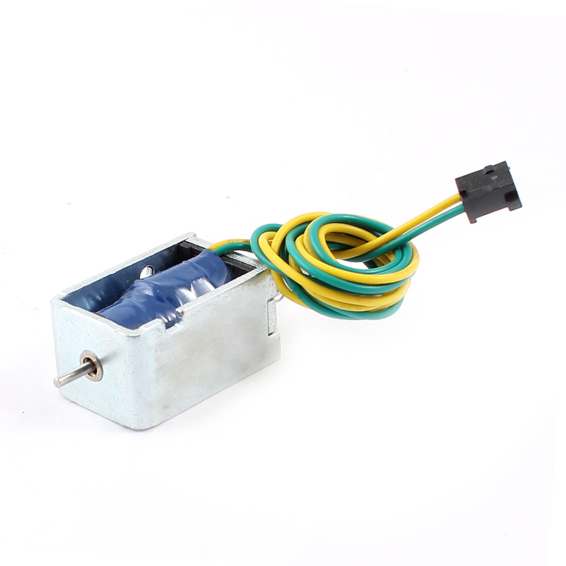 5mm/85g 7.99W Power Wired Open Frame Push Pull Type Solenoid Electromagnet DC 12V