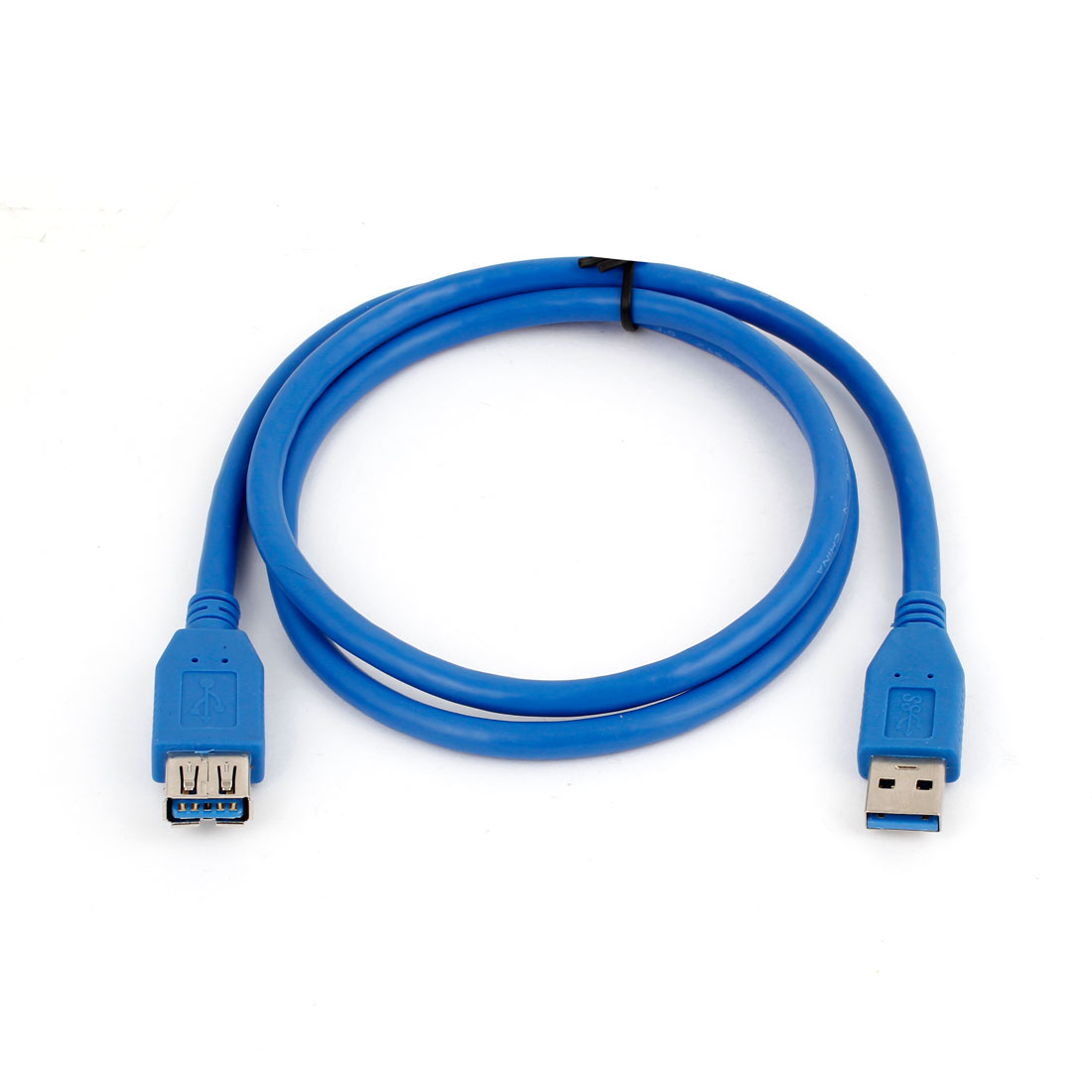 100cm 3.3ft Data Transfer USB 3.0 A Male to Female Extension Cable Cord Blue