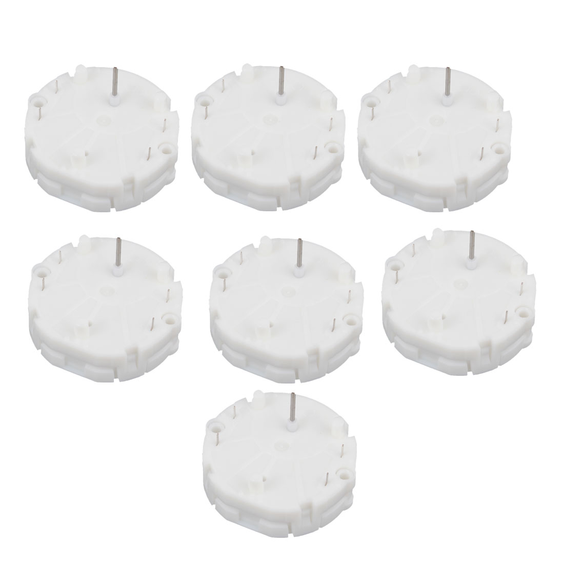 7PCS White X27.589 X27589 Speedometer Cluster Gauge Stepper Motors for Mustang