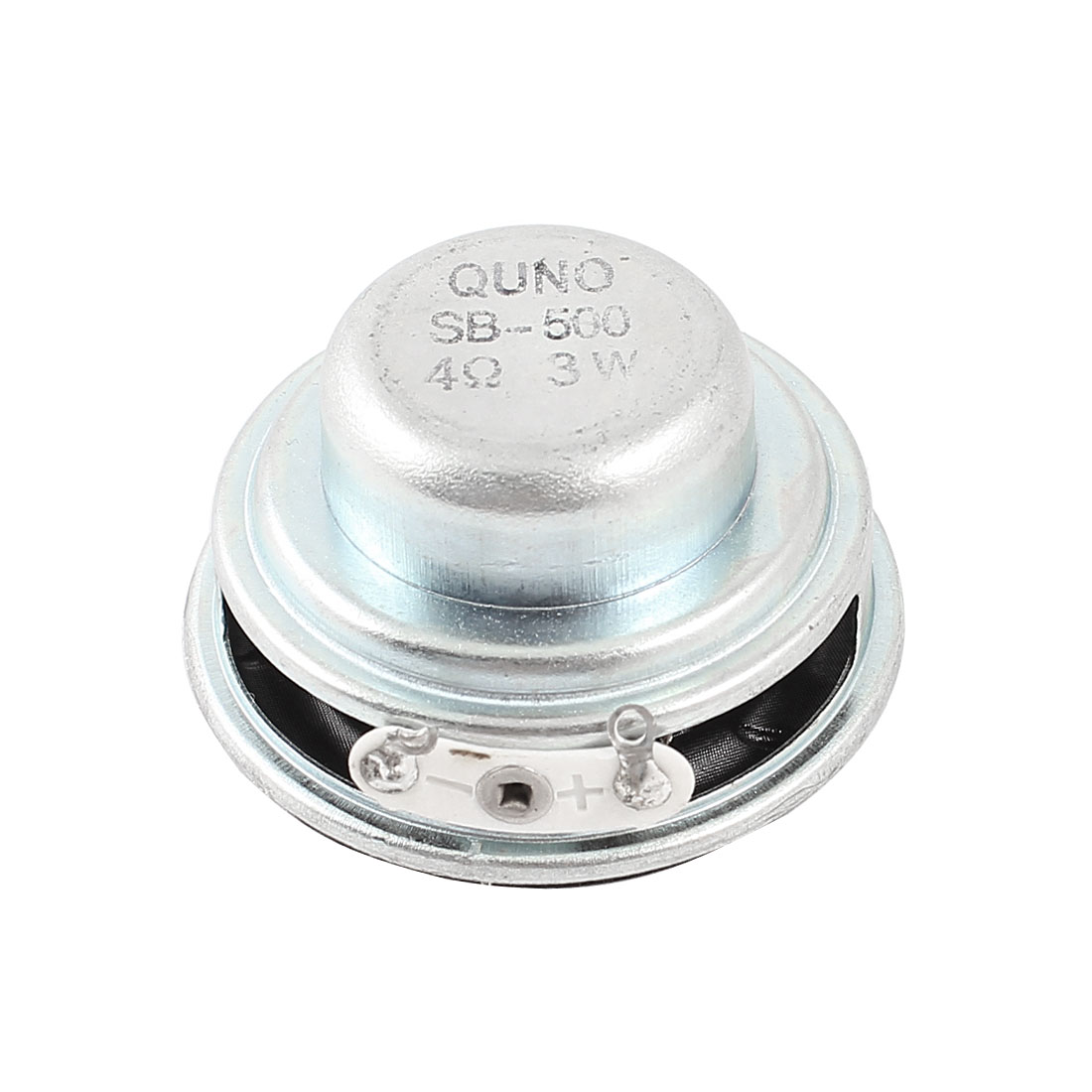 3W 4 Ohm Metal Housing Round External Magnet Speaker Loudspeaker