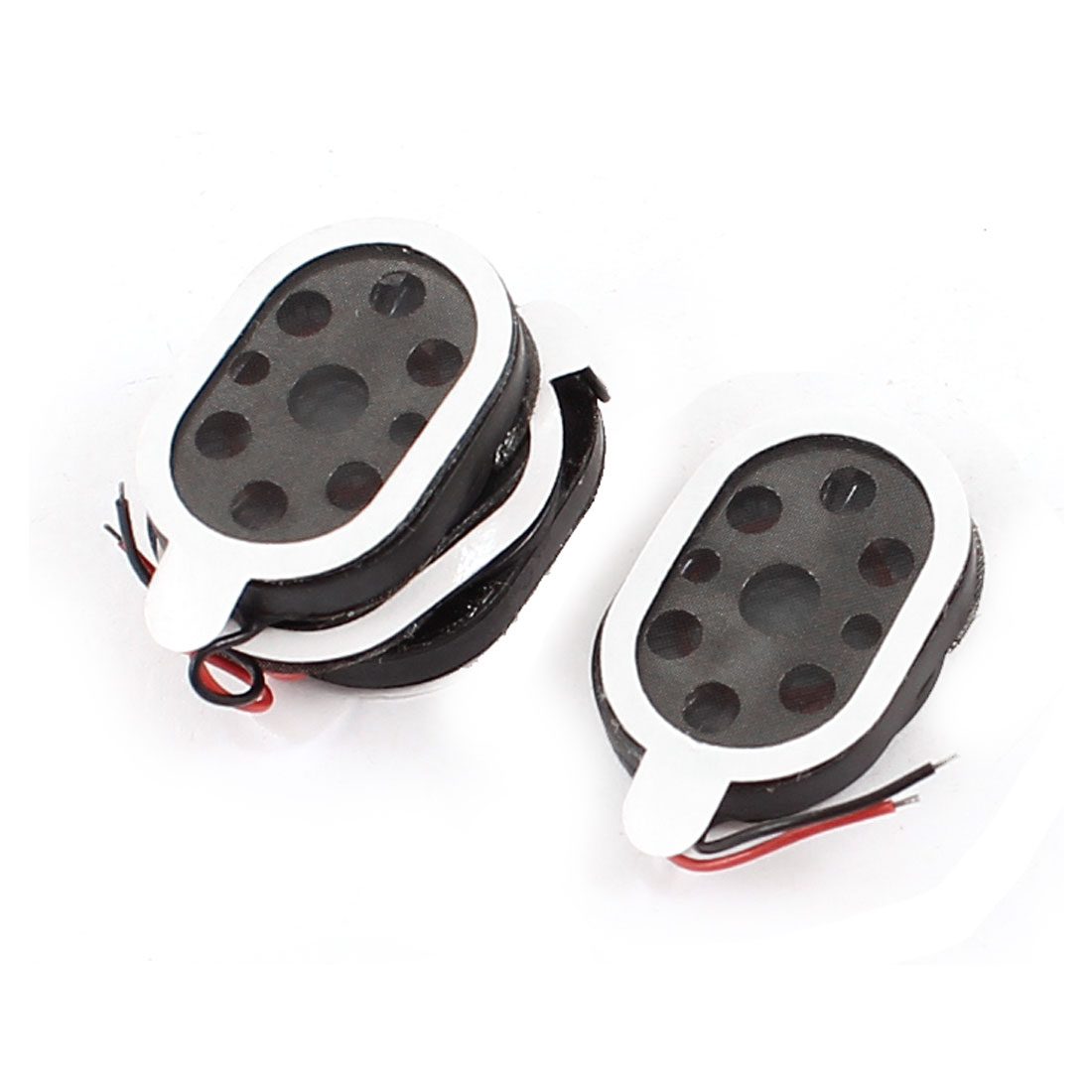 4Pcs 1Watt 8 Ohm 2-Wired Oval GPS Tablet Amplifier Speaker Loudspeaker Horn 20mm x 14mm