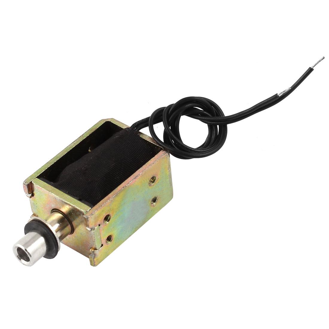 4mm Stroke 0.12Kg Holding Force Push Pull Type Solenoid Electromagnet DC 12V