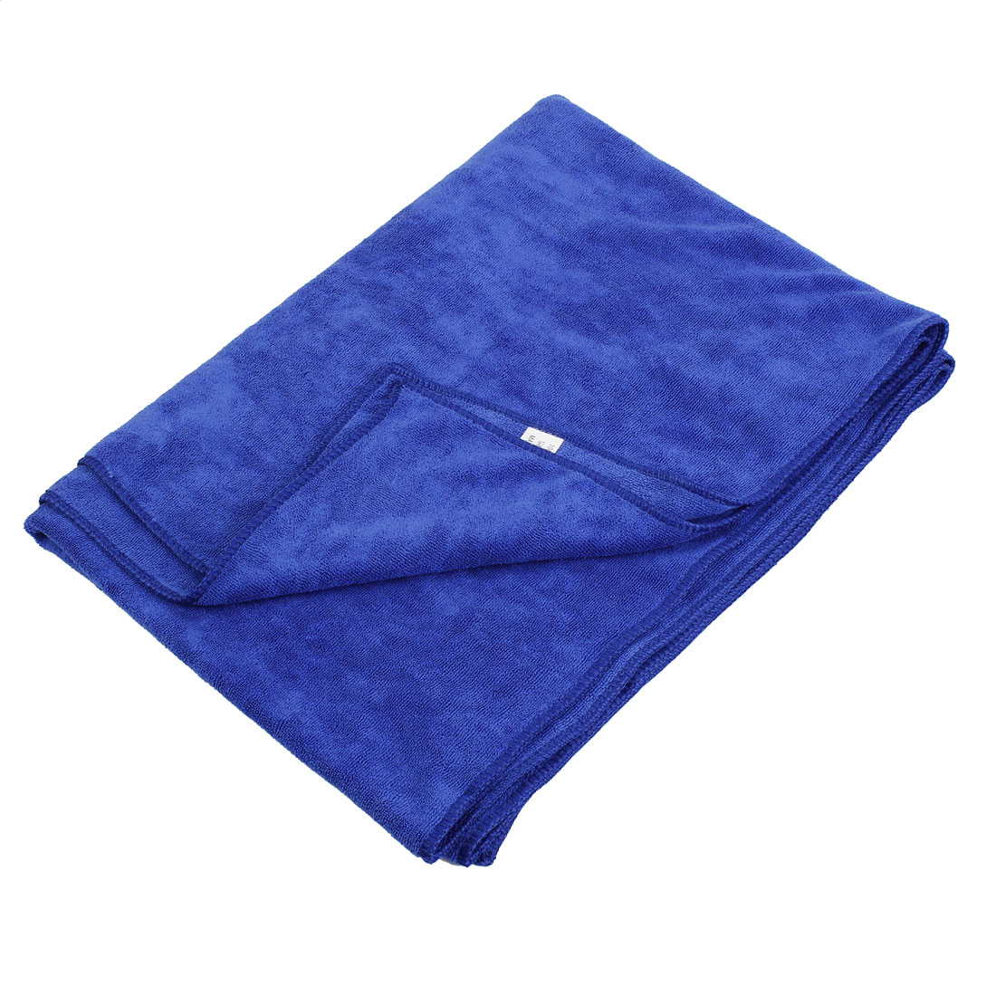 60cm x 160cm Rectangle Microfiber Towel Car Cleaning Cloth Blue