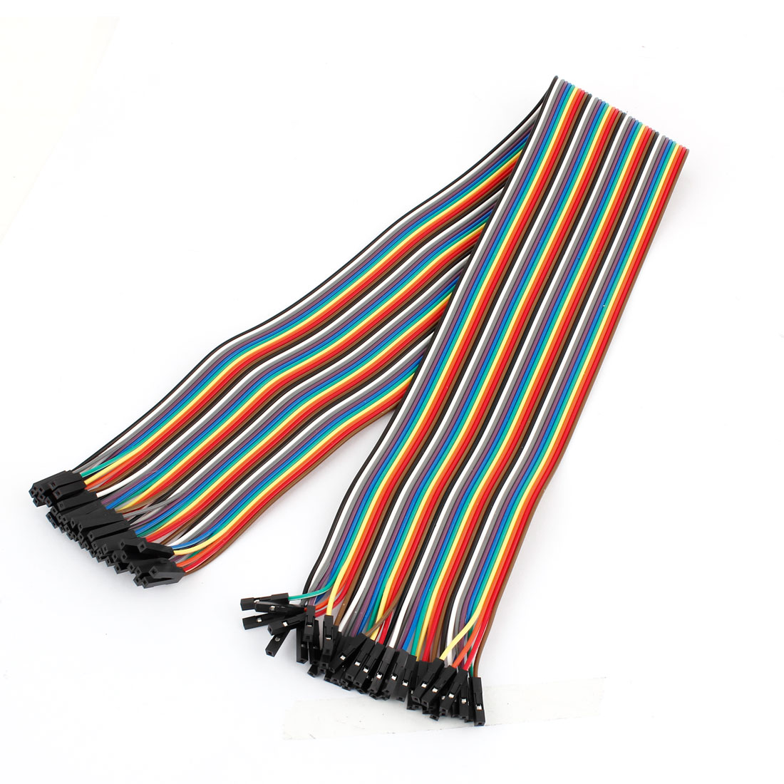 50cm 2.54mm 40Pin Female to Female F/F Connect Jumper Wire Cable Line