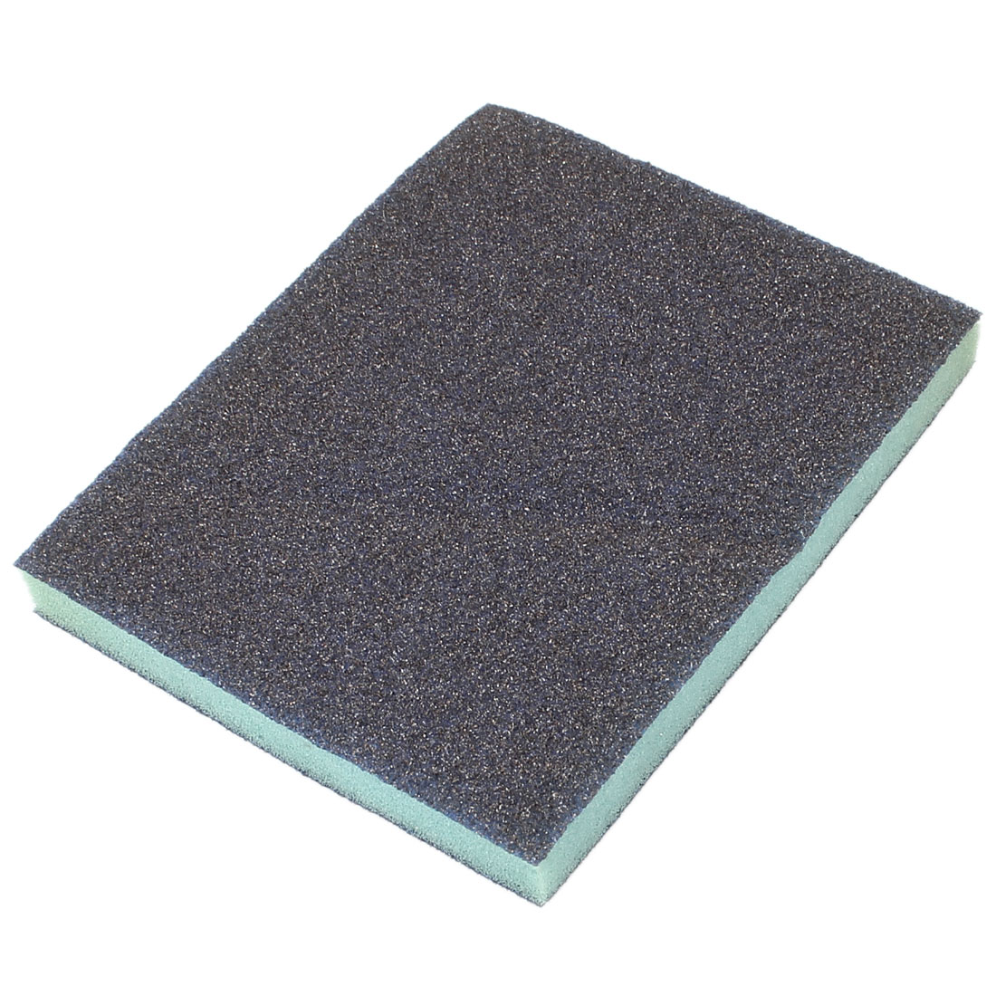 Rectangle Rough Grinding Sanding Sponge Block Gray 120mm x 98mm x 13mm