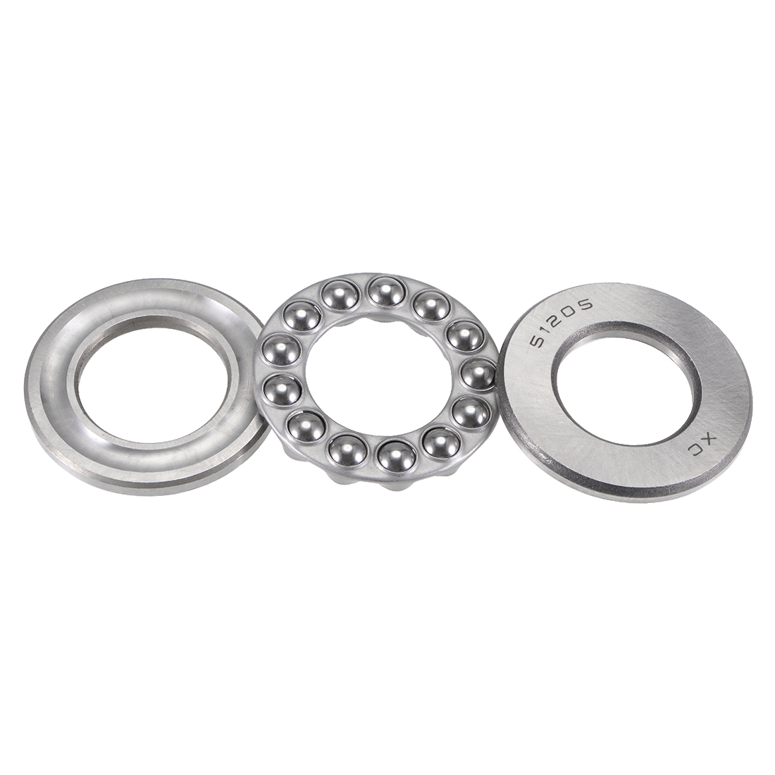 Carbon Steel Ball Thrust Bearing 51205 25mm x 47mm x 15mm