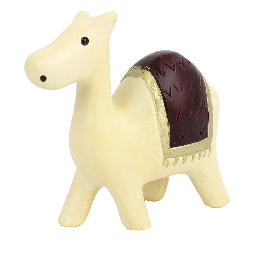 Tabletop Adorn Handmade Craft Camel Shape Decoration Beige