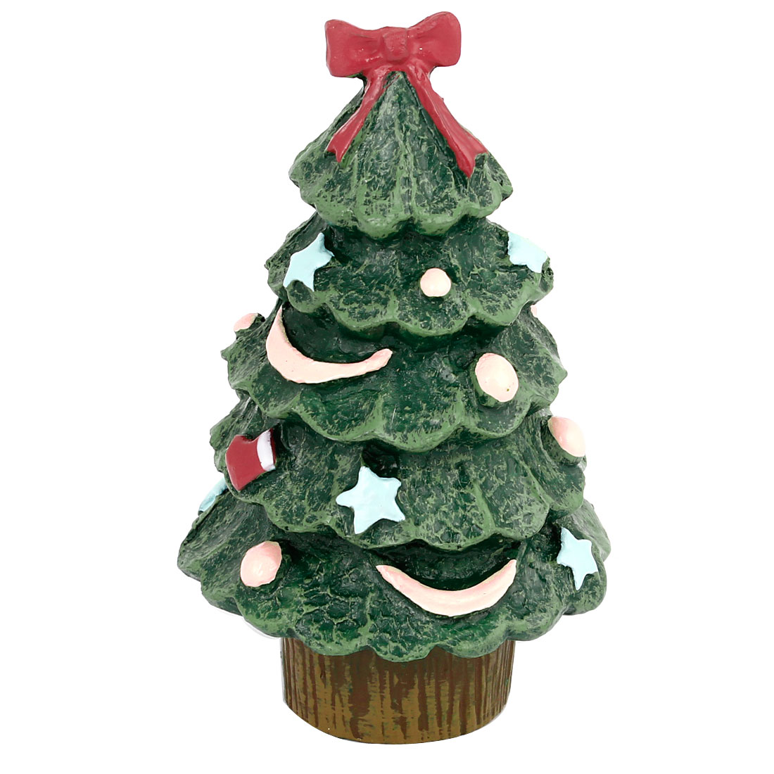 Festival Decor Simulated Christmas Tree Ornament Craft Green