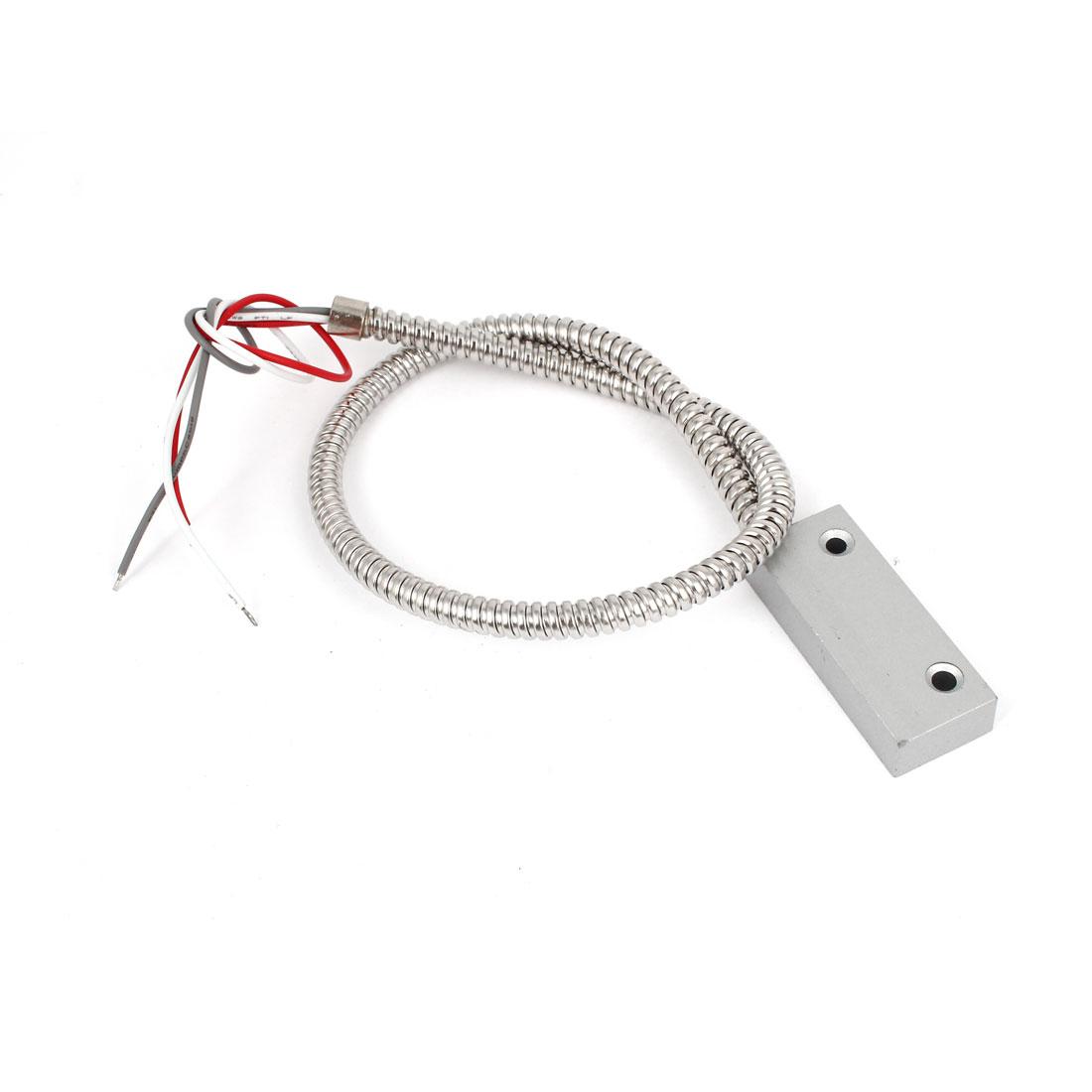 Zinc Alloy NO NC Optional Type Magnetic Window Door Contact Alarm Reed Switch