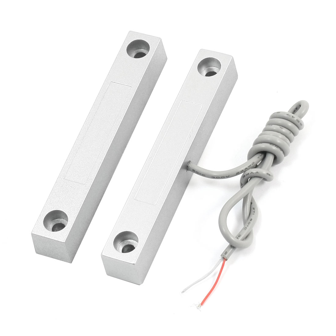 NO Wired Rolling Gate Door Magnetic Contact Reed Switch Security Alarm