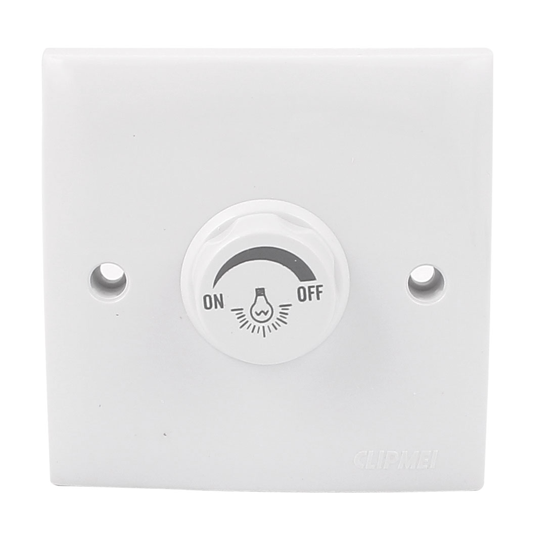 AC 200-250V White Wall Panle Plate LED Lamp Light Dimmer Control Switch w 24-55V 300mA LED Driver