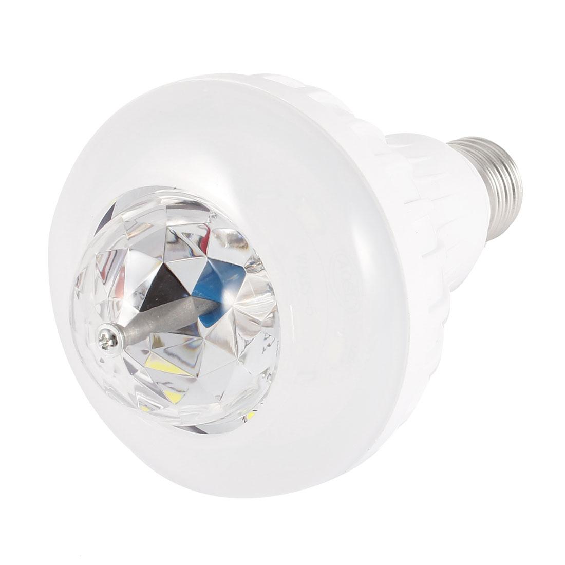 AC 85-260V 3W E27 Party DJ Dance Stage Blue LED Light Rotating Ball Lamp Bulb
