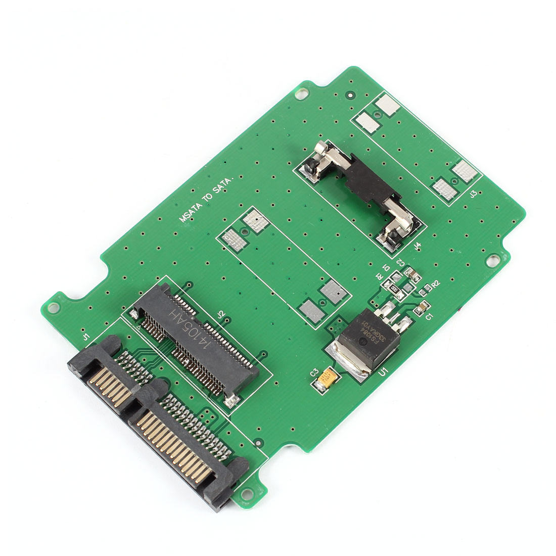 "mSATA SSD to 7+15Pin SATA 2.5"" HDD Card Adapter for Laptop Notebook"