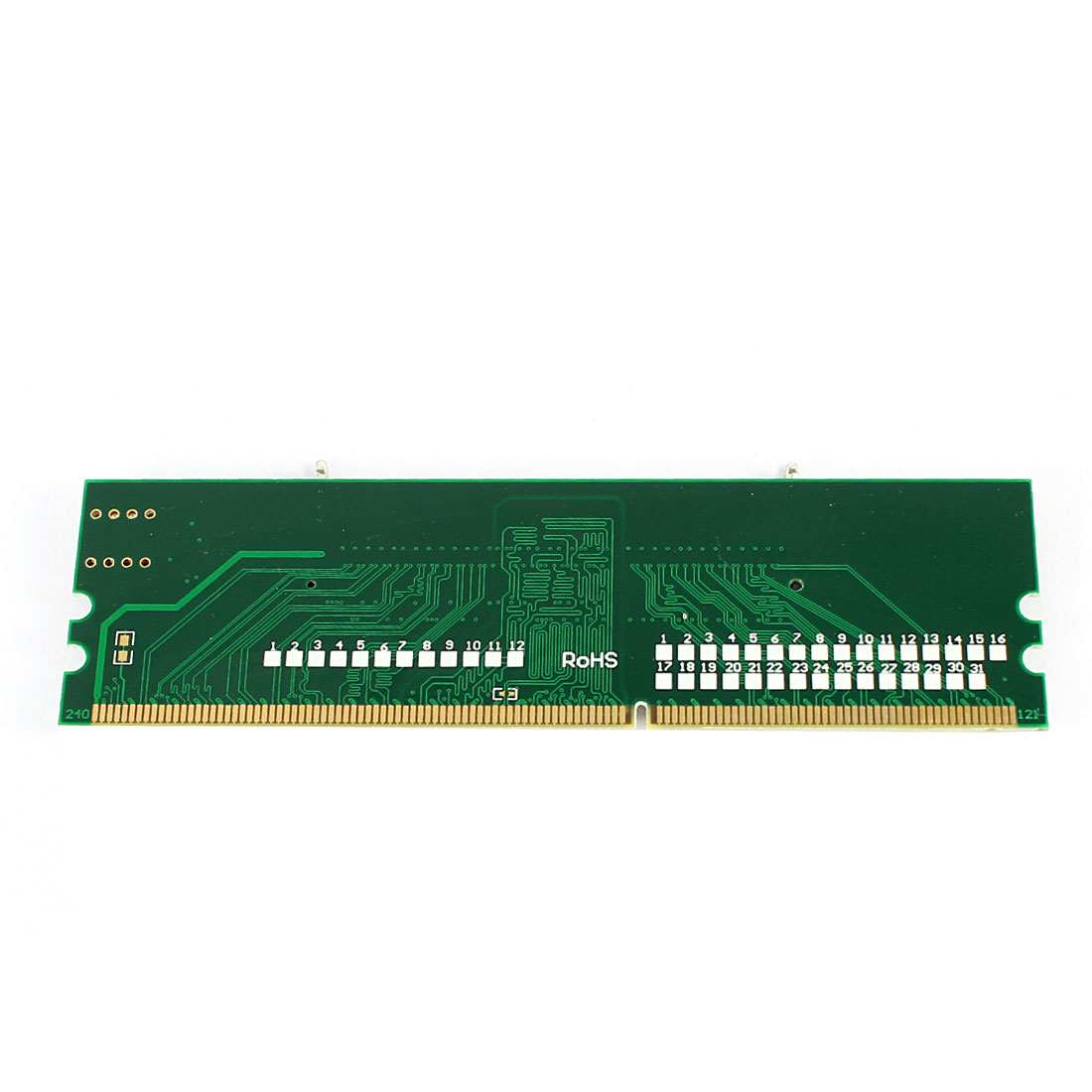 Laptop Notebook DDR3 SO-DIMM 204pin to Desktop PC LO-DIMM 240Pin RAM Adapter Card