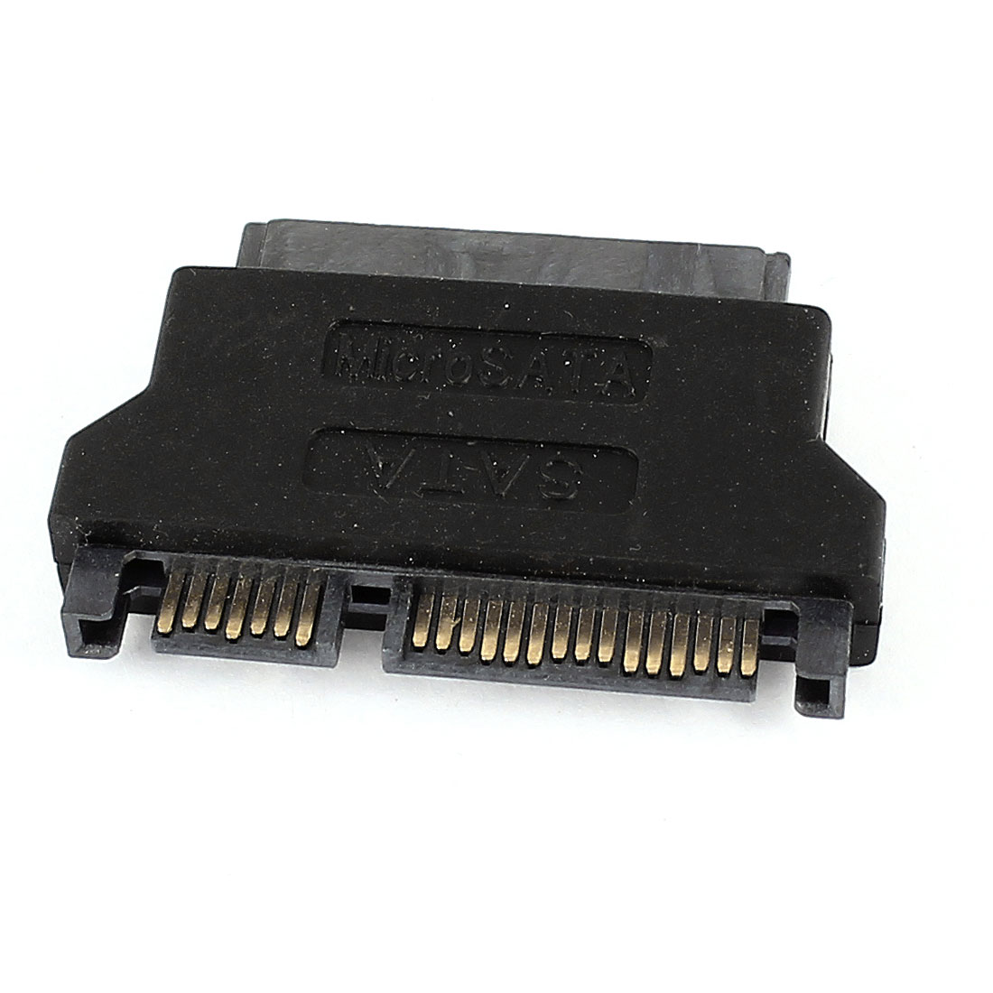 "1.8"" Micro SATA Female to 7+15Pin 2.5"" SATA Male HDD SSD Connector Adapter"