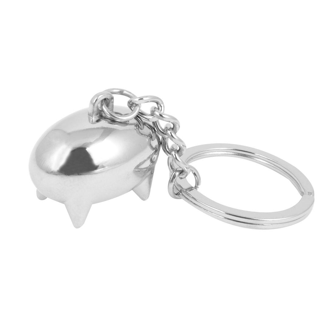 Pig Shape Design Pendant Keychain Keyring Hanging Ornament