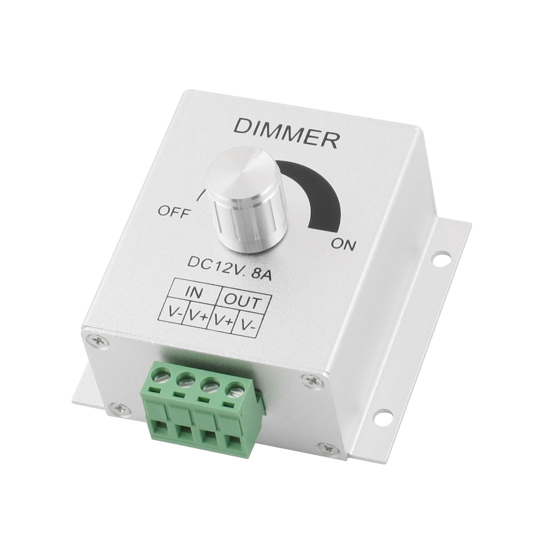 DC12V 8A 1 Channel LED Light Dimmer Controller for Spotlight Bulb