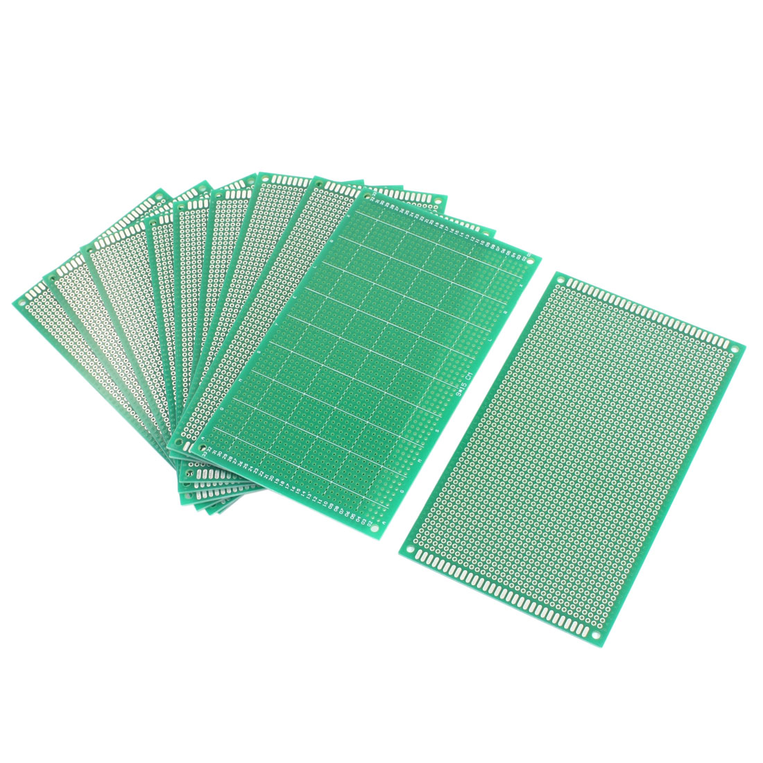 10Pcs DIY Universal Single Sided Protoboard Glass Fiber Prototyping PCB Printed Circuit Board 9cm x 15cm