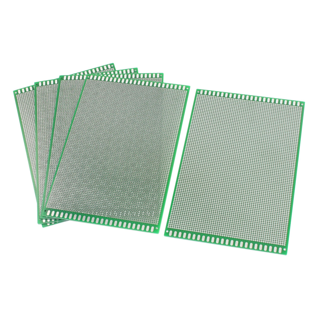 5Pcs DIY Universal Double Sided Protoboard Glass Fiber Prototyping PCB Printed Circuit Board 12cm x 18cm