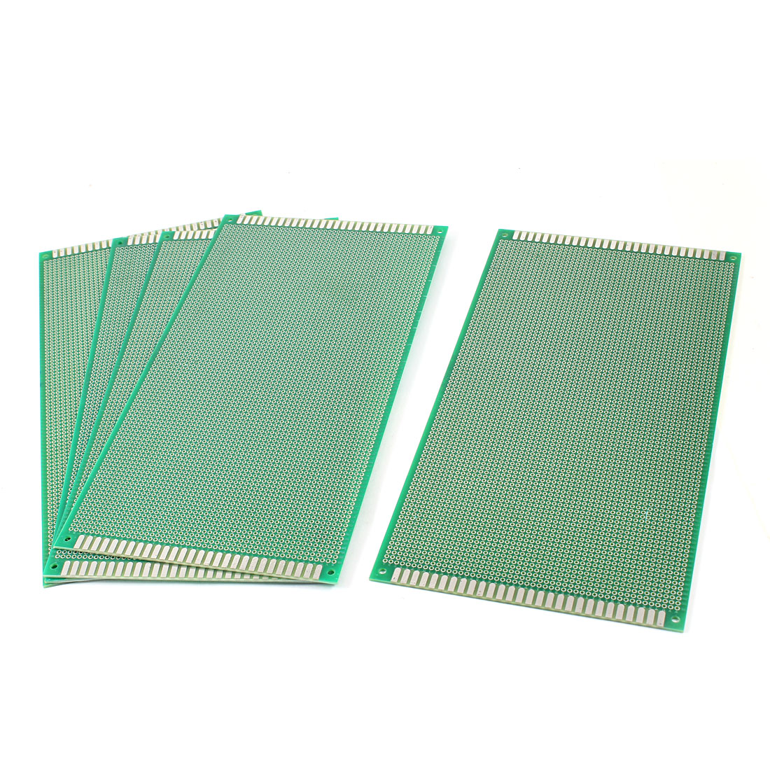 5 Pcs DIY Single Side Tinned Prototyping PCB Circuit Universal Board 13cmx25cm