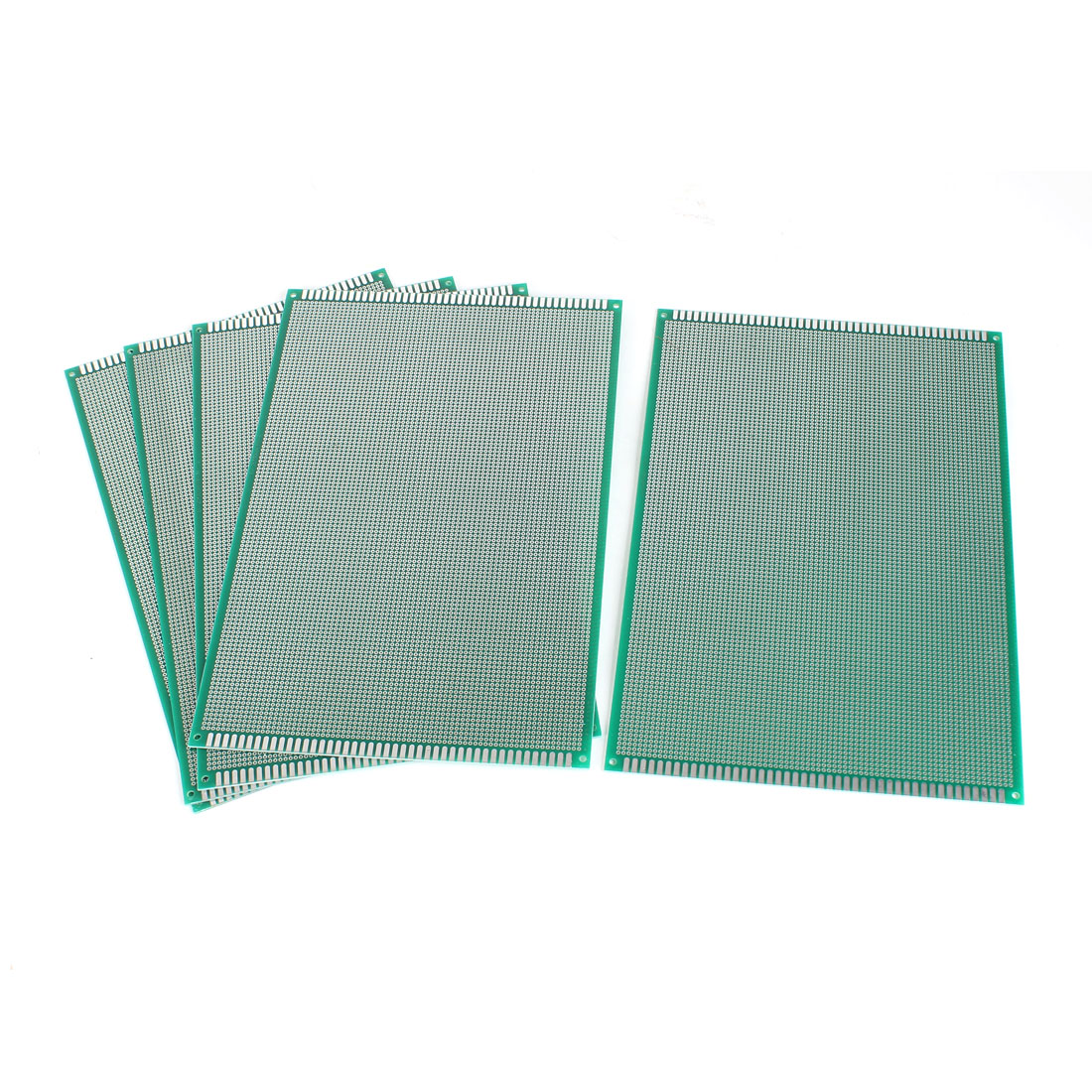5 Pcs Single Side Prototyping Experiment Tester Matrix PCB Circuit Plate Board 20cm x 30cm