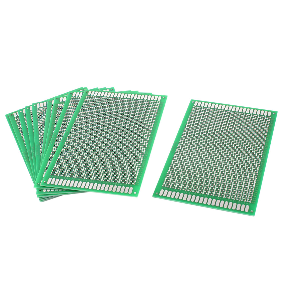 10 Pcs DIY Double Side Tinned Prototyping PCB Circuit Universal Board 10cmx15cm