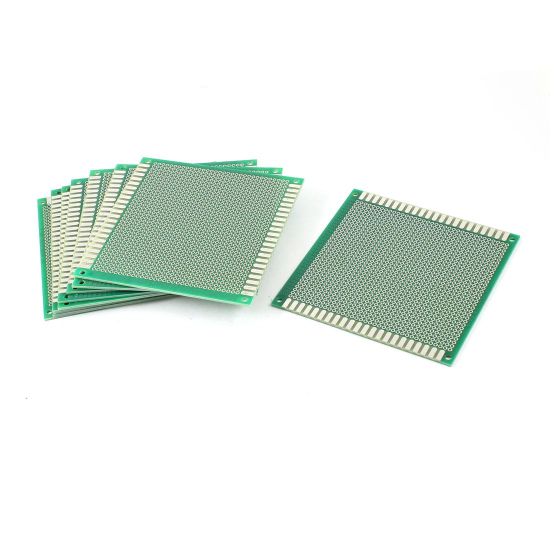 10 Pcs DIY Single Side Tinned Prototyping PCB Circuit Universal Board 10cmx10cm