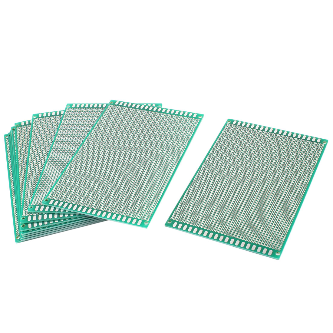 10 Pcs DIY Single Side Tinned Prototyping PCB Circuit Universal Board 10cmx15cm