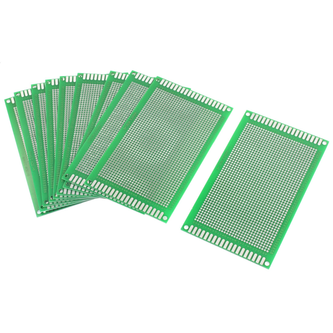 10Pcs DIY Universal Double Sided Protoboard Glass Fiber Prototyping PCB Printed Circuit Board 9cm x 15cm