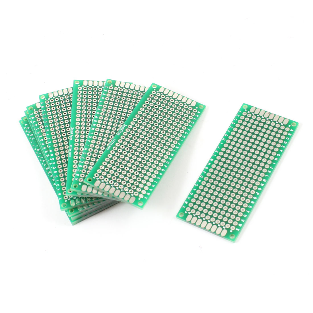 10 Pcs DIY Double Side Tinned Prototyping PCB Circuit Universal Board 3cmx7cm