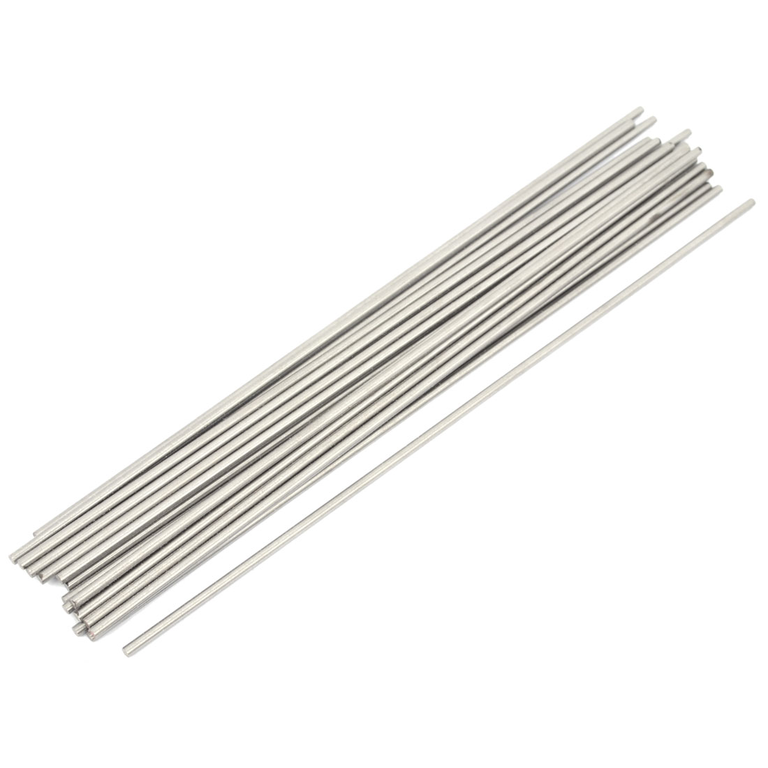 20 Pieces High Speed Steel Round Turning Lathe Carbide Bars 3mm x 200mm
