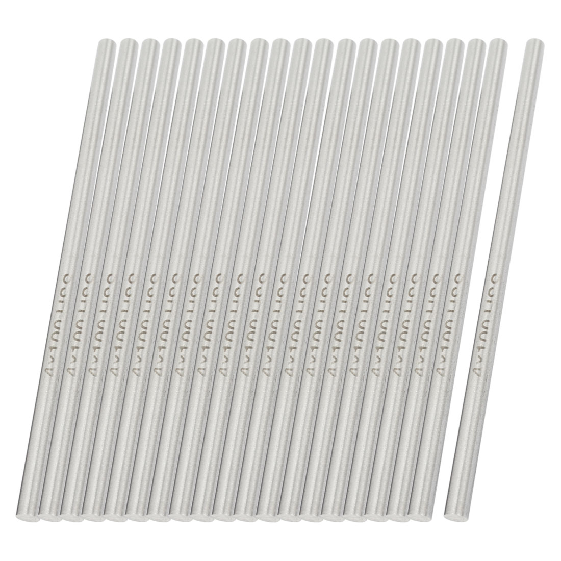 20pcs 4mmx100mm HSS High Speed Steel Turning Bars for CNC Lathe