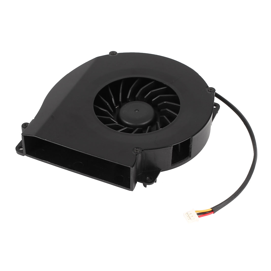 DC Brushless 3 Wires Cooling Blower Fan Cooler 11020S 110mmx20mm Black 12V 0.4A