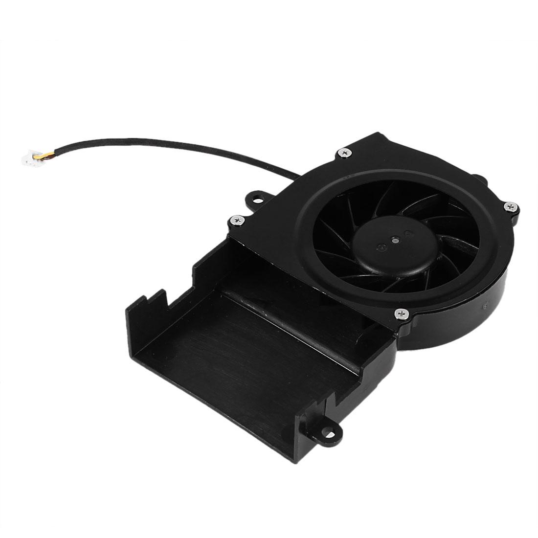 BS5005MB11-I DC 5V 0.3A 3 Wires Brushless Laptop Case Cooling Fan Cooler Black