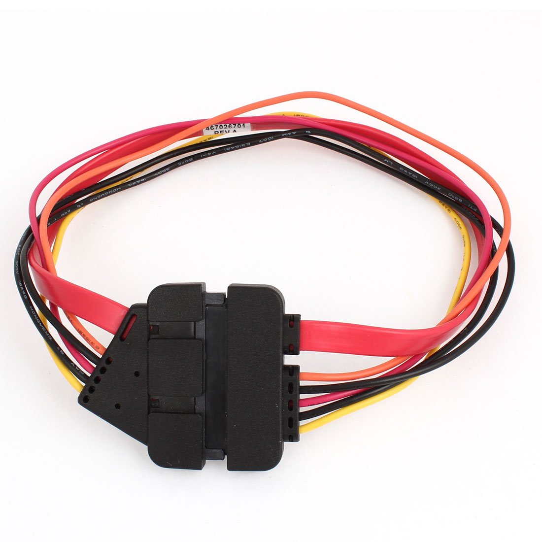 SATA 7+15Pin Female to Male Connector Combo Data Power Adapter Cable Replacement