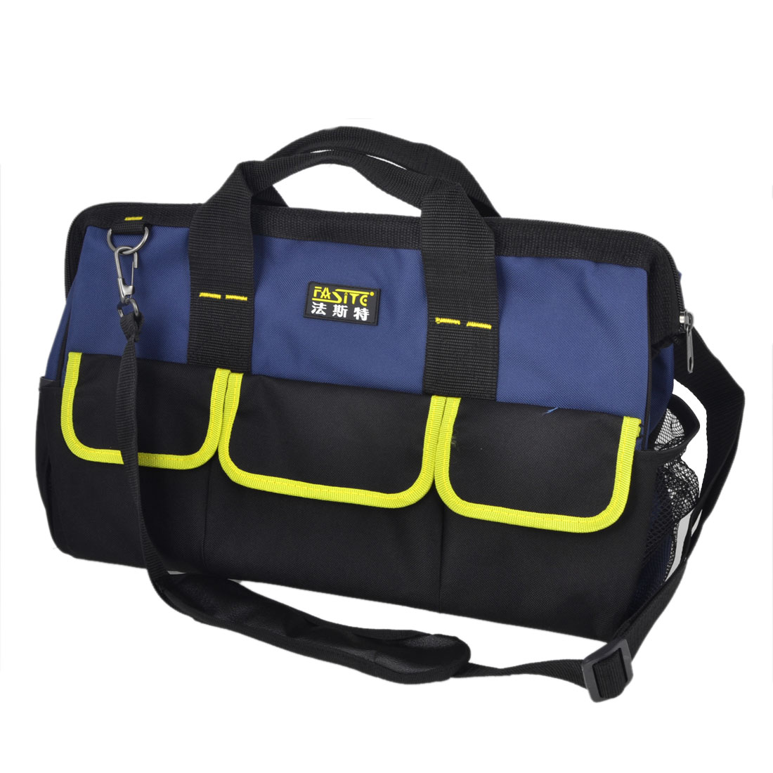 Blue Yellow Nylon Oxford Computer Maintenance Tool Holder Bag