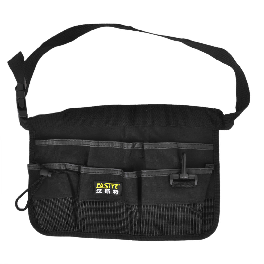 Release Buckle Black Nylon Oxford Gardens Tool Holder Waist Bag