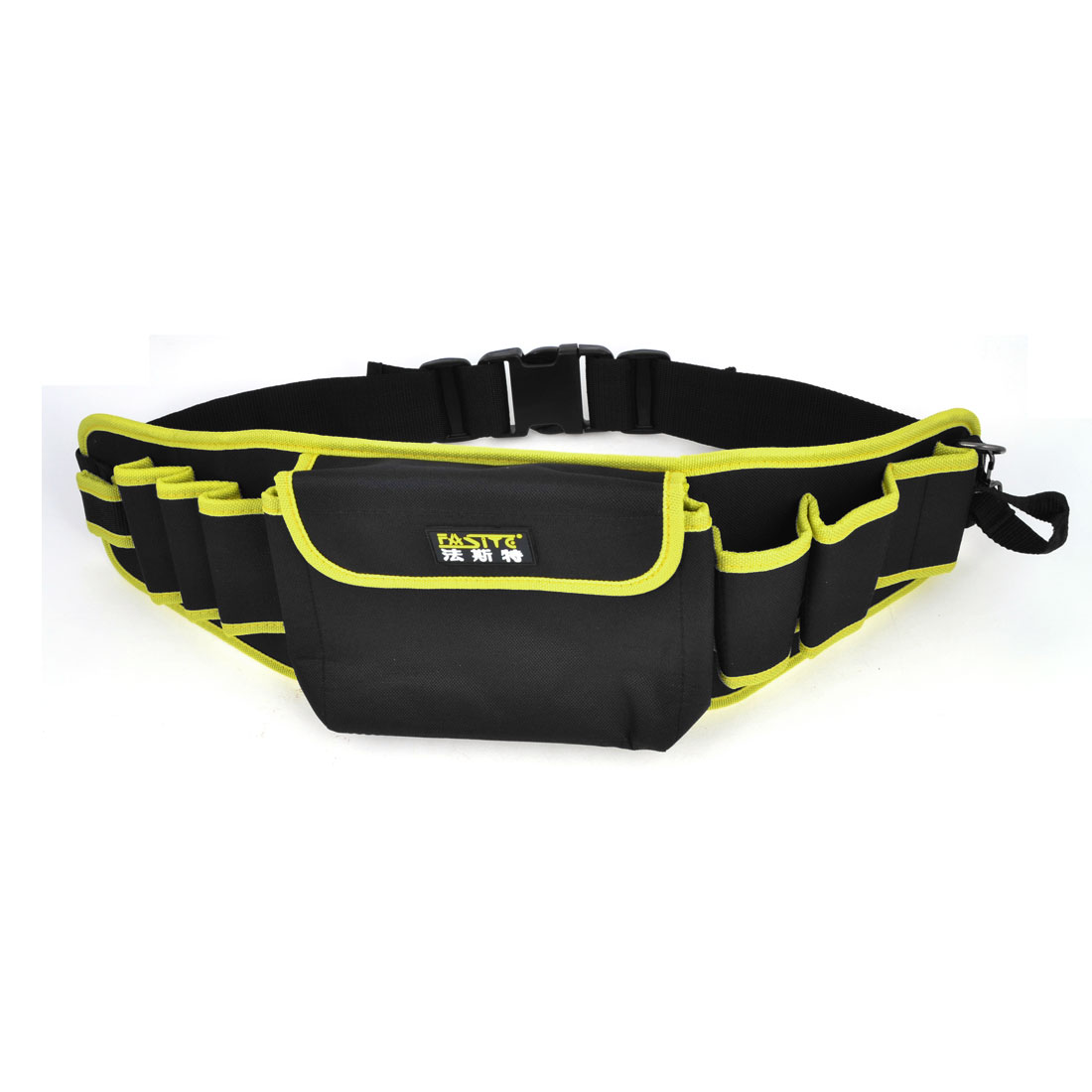 Black Yellow Canvas Pliers Scissors Organizer Tool Holder Waist Bag